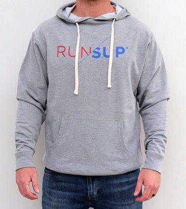 RunSup Grey Hoodie