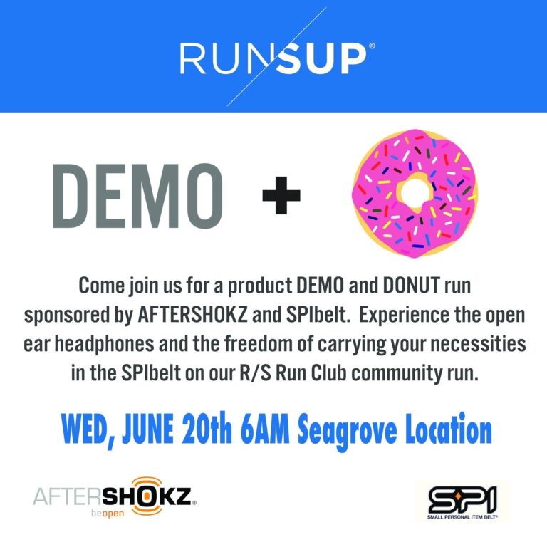 Join us! Demo and Donut Run