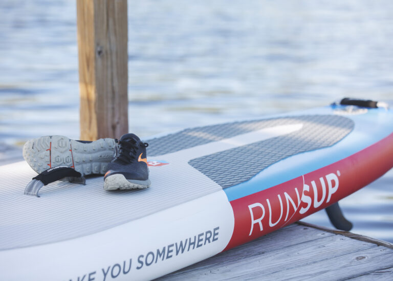 RUN/SUP Combines Trail Running with Stand Up Paddling