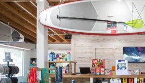 RUN/SUP Store Interior