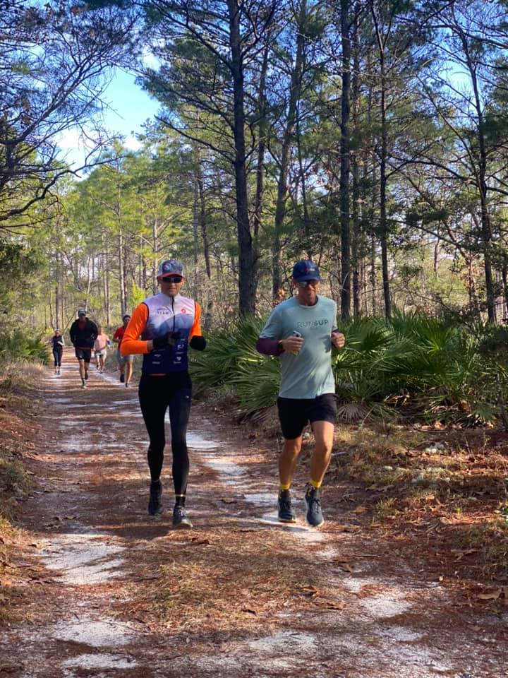 Winter Trail Running on 30A